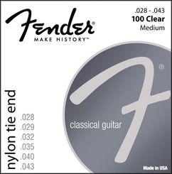 Fender 100 stygos klasikinei gitarai