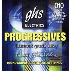 GHS PRDM Progressives Dave Mustaine stygos elektrinei gitarai