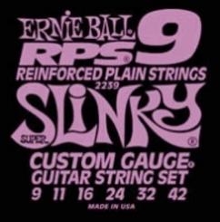 Ernie Ball 2239 stygos elektrinei gitarai