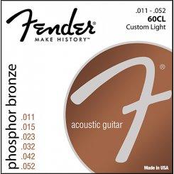 Fender 60CL stygos akustinei gitarai