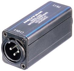 Neutrik NADITBNC-M AES/EBU impedanso transformatorius