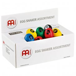 MEINL ES Plastic Egg Shaker R/25, Y/25, BK/25