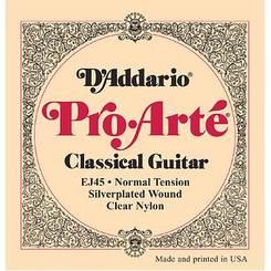 D`addario EJ45 stygos klasikinei gitarai