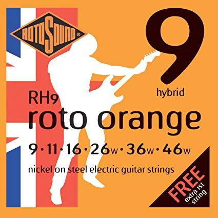 Rotosound RH9 stygos gitarai
