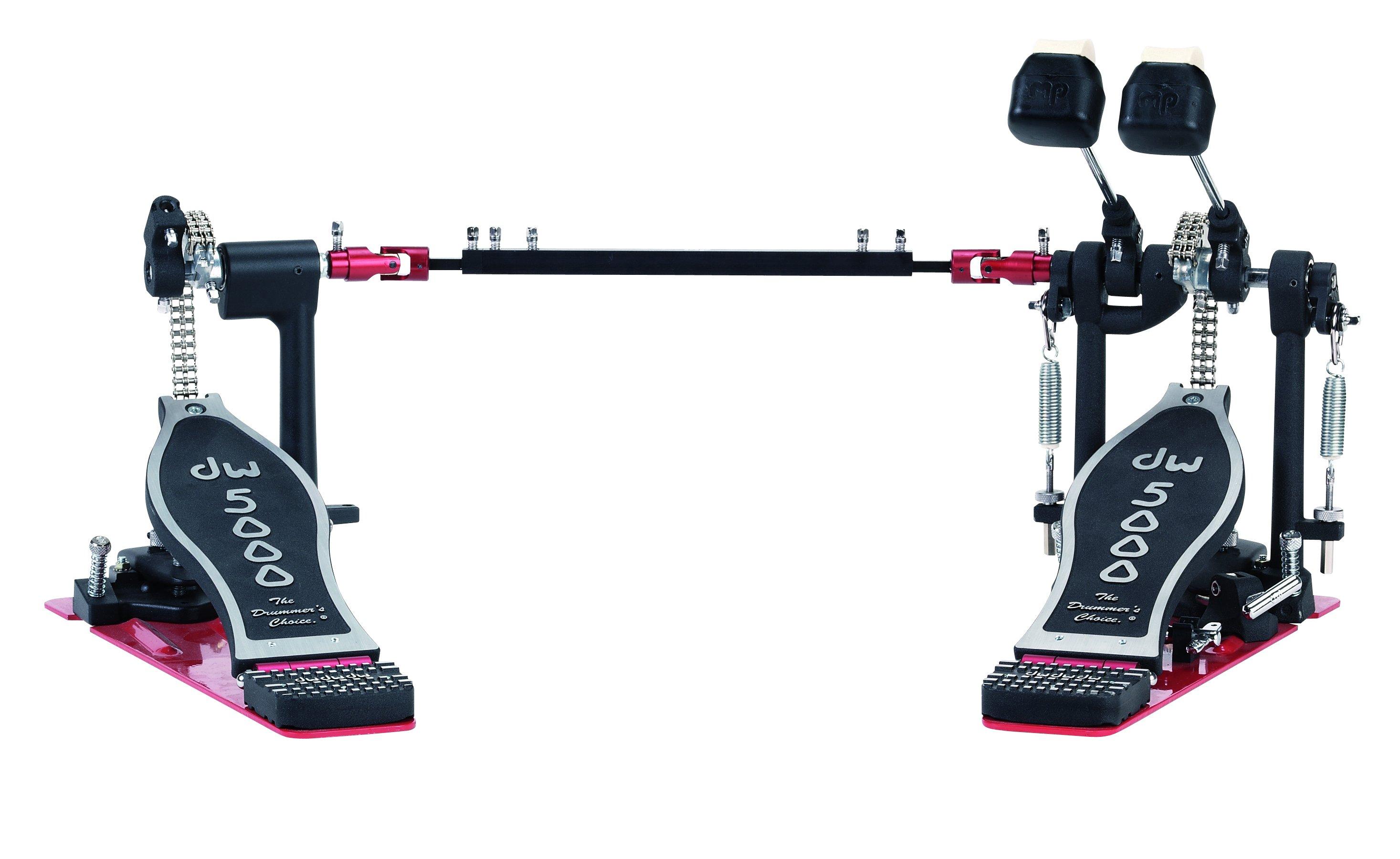 DW 5002AD3 dvigubas pedalas