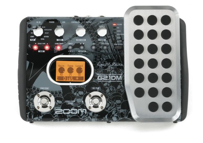 ZOOM G2.1 Dave Mustaine signature