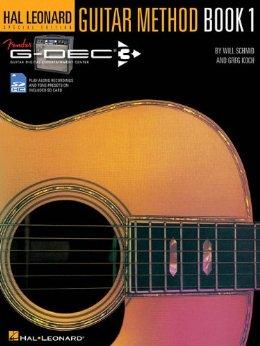 Fender Book SD Card Hal Leonard Guitar Method Book 1