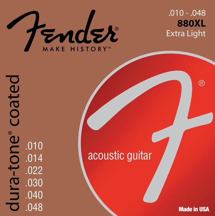 Fender 880XL stygos akustinei gitarai