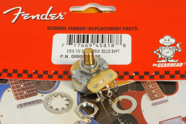 Fender 0990831000 potenciometras gitarai 250K SOLID