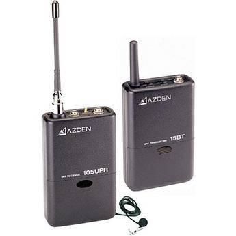 Azden 105 series UHF radijo mikrofonas