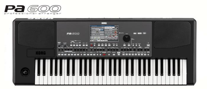 Korg Pa600 OT sintezatorius
