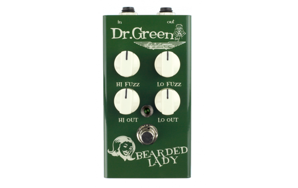 DR. Green Ashdown Bearded Lay Vintage Fuzz for Bass