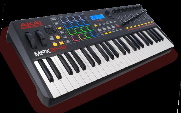 AKAI MPK 249 MIDI klaviatūra