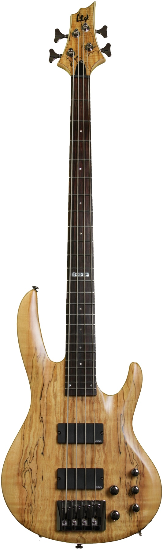 LTD by ESP B414 Spalted Maple NS