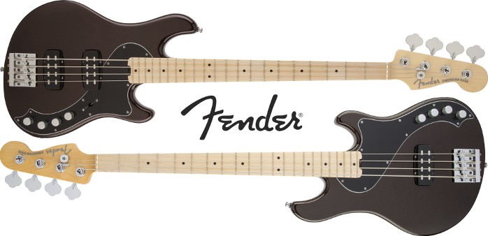 Fender American Deluxe Dimension Bass IV MN RTB