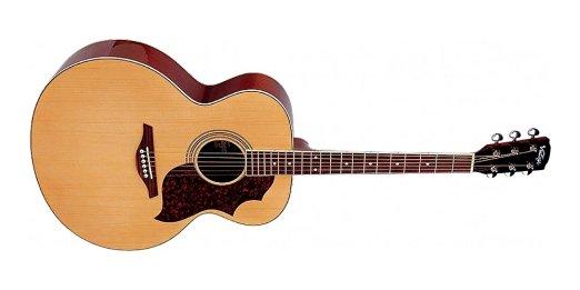 Vintage VJ100N Jumbo acoustic