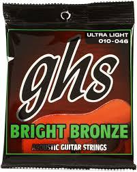 GHS BB10U stygos akustinei gitarai