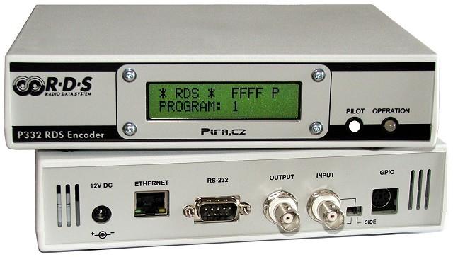 Pira P332 RDS encoderis