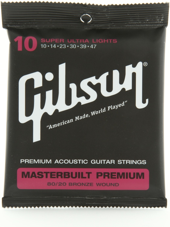 Gibson BRS10 Masterbuilt Premium stygos akustinei gitarai