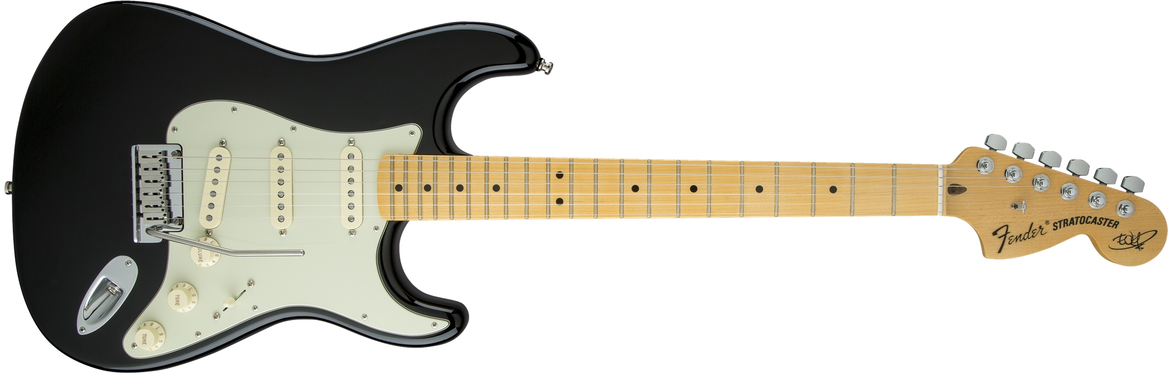 Fender The Edge Strat MN BLK Made in USA