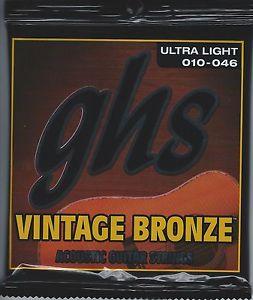 GHS VN-UL Vintage Bronze 10-46