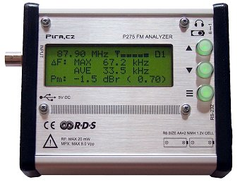 PIRA275 FM Analyzer