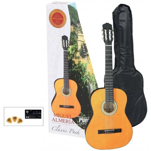 Miguel Almeria PS502.110 Honey klasikinė gitara pack