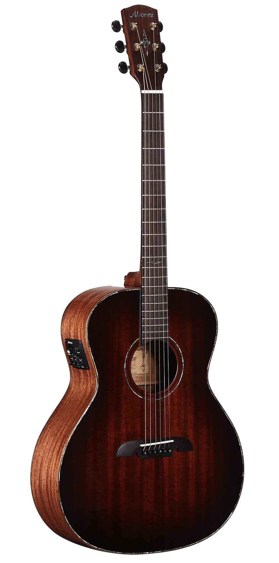Alvarez MGA66ESHB-BB Grand Auditorium elektro-akustinė gitara