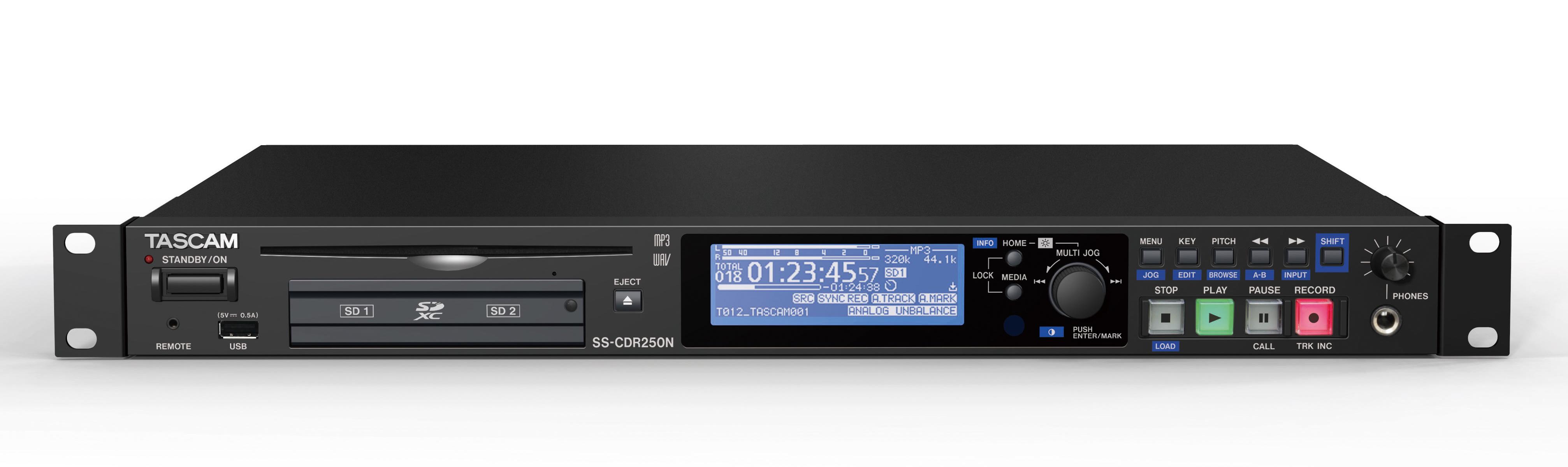 Tascam SS-CDR250N