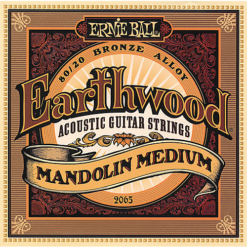 Ernie Ball 2065 stygos mandolinai