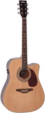 Vintage VEC501N elektro-akustinė gitara.