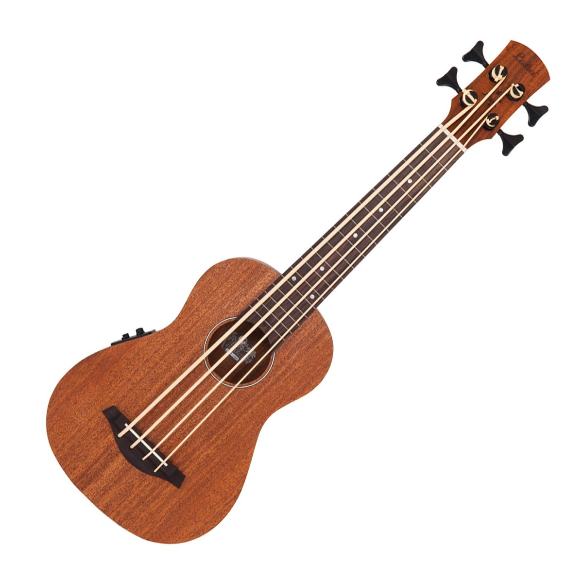 Laka VUB60EA Ukulele Bass Electro-acoustic Mahogany bosinė ukulėlė