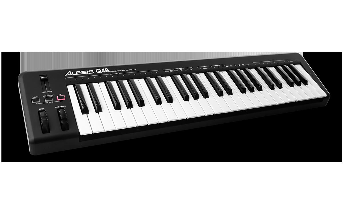 Alesis Q49 49key USB-Midi keyboard controller