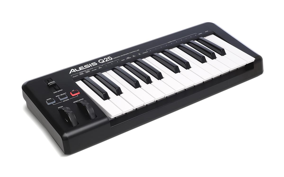 Alesis Q25 USB-Midi keyboard controller