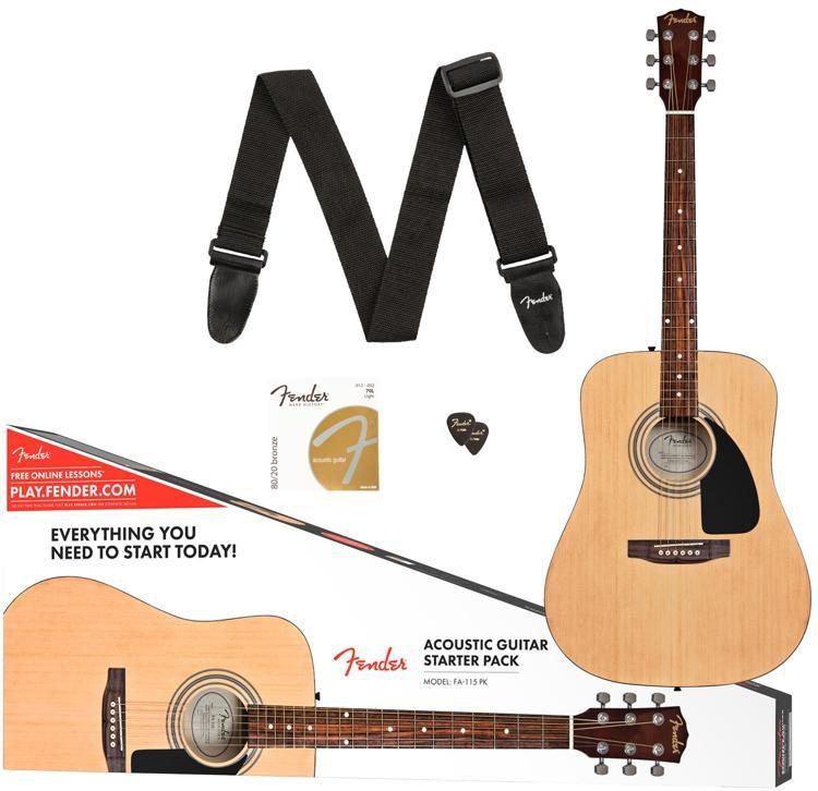 Fender FA-115 NAT akustinė gitara