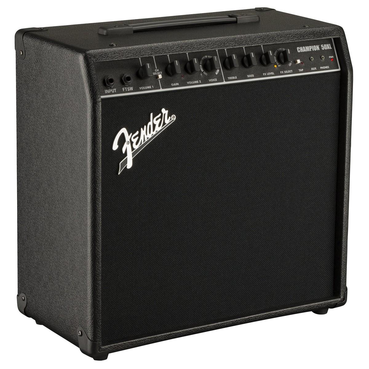 Fender Champion 50XL stiprintuvas elektrinei gitarai