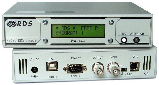 Pira P232U RDS encoderis