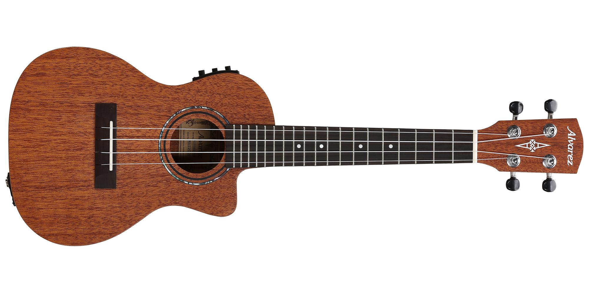 Alvarez RU22CCE Concert ukulele
