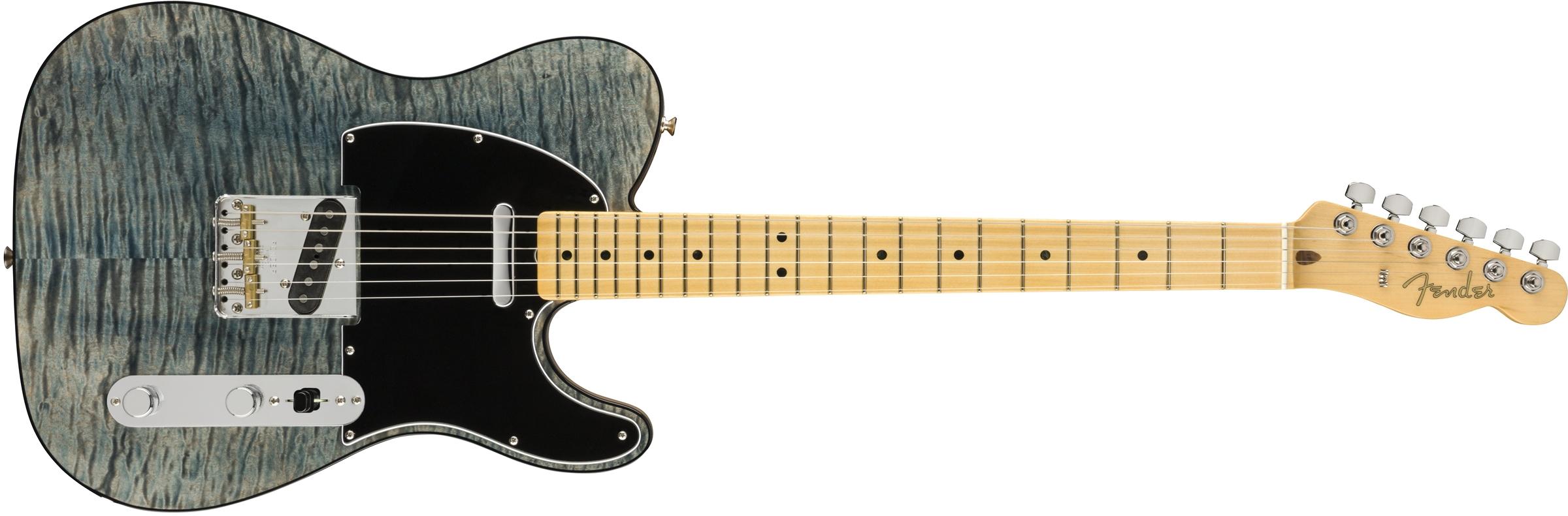 Fender Rarities Quilt Maple Top Telecaster  Blue Cloud