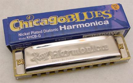 Chicago Blues armonikėlė