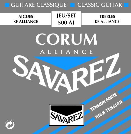 Savarez 500AJ stygos klasikinei gitarai