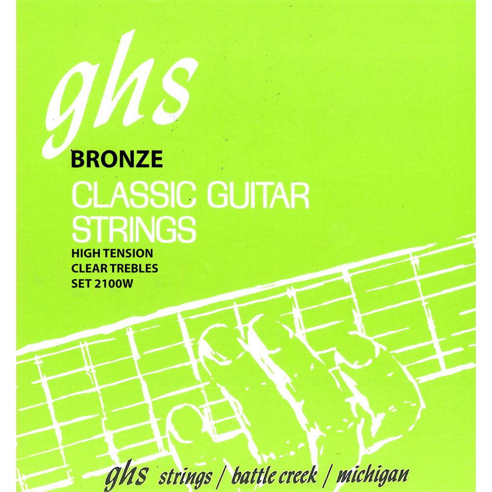 GHS 2100 stygos klasikinei gitarai