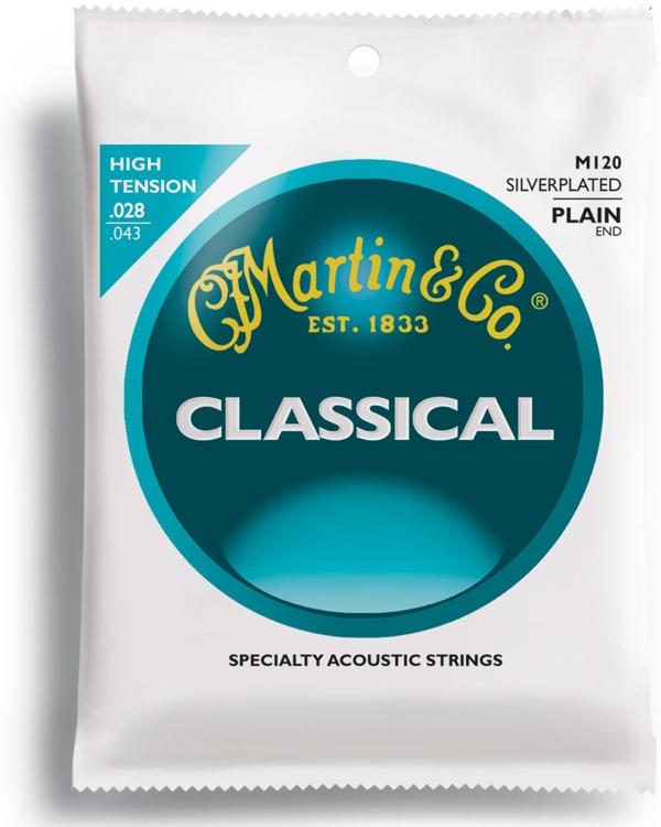 Martin M120 stygos klasikinei gitarai