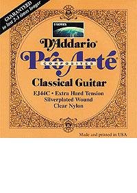 D`addario EJ46 stygos klasikinei gitarai