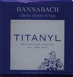Hannabach 950MHT stygos klasikinei gitarai