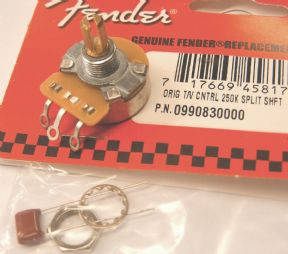 Fender 0990830000 potenciometras gitarai 250K SPLIT