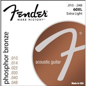 Fender 60XL stygos akustinei gitarai