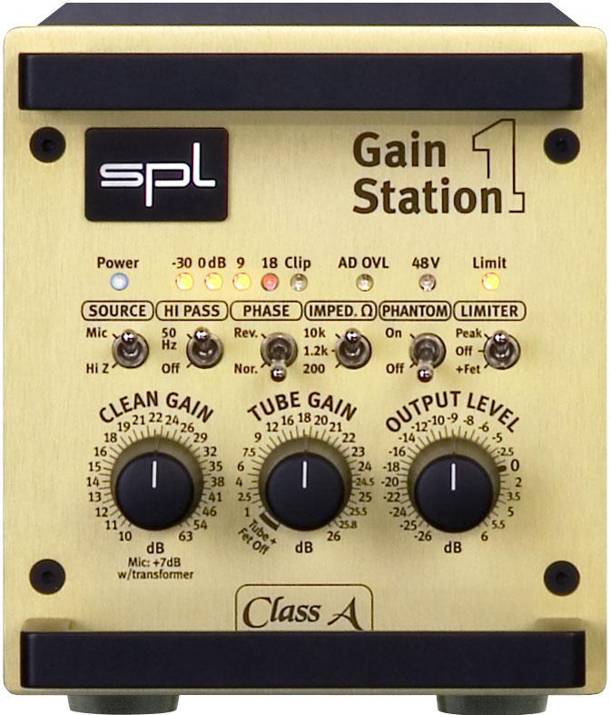 SPL GainStation 1 mikrofoninis stiprintuvas