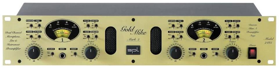 SPL GoldMike MK2 mikrofoninis stiprintuvas
