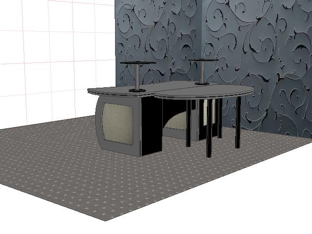 Didžiosios aparatinės stalas